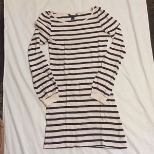 French Connection cotton striped dress sz 4